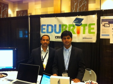 Ajay and Manish at DevLearn 2012